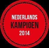 Nederlands kampioen 2014