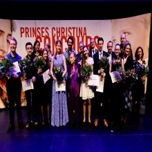 Us Gerben Jongsma tweede op Prinses Christina Concours