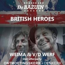 SELLEkonsert: Weima&VanderWerf eren British Heroes op vooravond van de Brexit